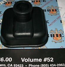BUICK OLDS PONTIAC 1932 thru 38  BLACK SHIFT BOOT +8pg. list of GM Parts Stocked