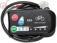 24/36V 3-speed PAS LED Control Panel/Display Meter-880 for Electric Bicycle