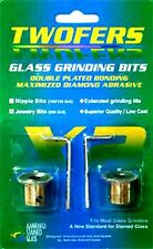 2 NEW Jewelry STAINED GLASS GRINDER BIT HEAD SUPPLIES