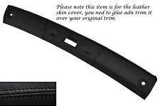 BLACK Stitch TOP TETTO APRIBILE cuoio pelle copertura si adatta Porsche 944 S2 86-91