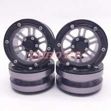 RC 1/10 Scale Truck Rims Wheel CNC 1.9 Inch Beadlock Wheels (4) For Rc Rock Car