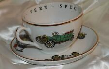 Princess House Fine Porcelain To a Very Special Person Cup Saucer Cars