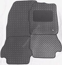 PEUGEOT 207/207CC 2006+ NEW BLACK TAILORED HEAVY DUTY RUBBER CAR FLOOR MATS