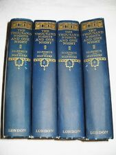 THE THOUSAND NIGHTS AND ONE NIGHT/LIMITED TO 1500 SETS BOND PAPER IN 4 VOL/1923