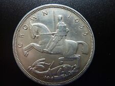 1935 George V Mecedora Caballo Corona De Plata Buen grado