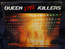 Queen Live Killers SEALED USA 1979 GATEFOLD 2 VINYL LP SET W/ NO BARCODE