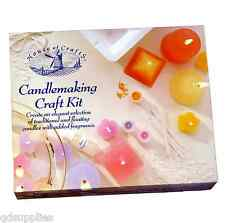 CANDLE Making candlemaking KIT Craft House Of Crafts CERA STOPPINO STAMPI Dye hc140