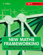 New Maths Frameworking - Year 7 Pupil Book 1 (Levels ..., Speed, Brian Paperback