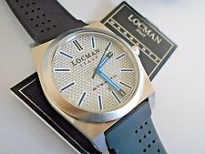 New Men's Locman Sport Stealth Titanium Quartz Watch with Leather Locman Case