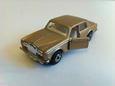 Matchbox Lesney - 39 -  Rolls Royce Silver Shadow II bronze