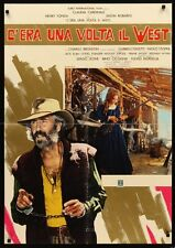 ONCE UPON A TIME IN THE WEST Italian 1F movie poster JASON ROBARDS SERGIO LEONE