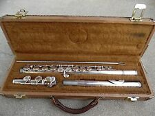 YAMAHA YFL-24S STUDENT BEGINNER FLUTE WITH HARD CASE SN 0011101