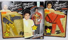 Michael Jackson Fully Poseable Doll + 2 Outfits Thriller, Grammy Awards 1984 NEW