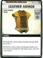 Pathfinder Adventure Card Game - 1x Leather Armor - Character Add-On