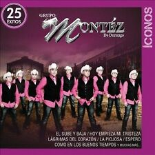 Iconos / 25 Exitos [2 CD] [Audio CD] Grupo Montez De Durango