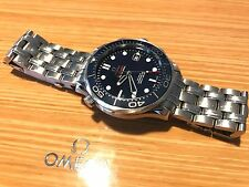 Omega Seamaster Diver 300m Co-Axial Blue Automatic Watch 212.30.41.20.03.001