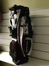 Golf Bag Stand Bag Bennington Zone-WFO lightweight stand bag in black/white/red