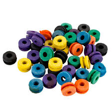 100 COLOR Rubber Tattoo Needle Machine Grommets Nipple