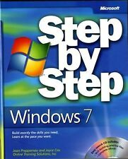 Step by Step Ser.:Windows® 7 Pack by Joan Preppernau, Inc. Staff Online Training