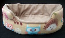 guinea pig bed snuggle pouch holder cuddle cup  degu rat hedgehog woodland 15""