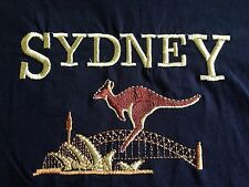 VINTAGE SYDNEY EMBROIDERED T SHIRT XL