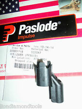 PASLODE Part  # 502047  LOWER WORK CONTACT ELEMENT (PF350S)