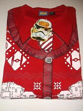STAR WARS UGLY CHRISTMAS X-MAS SWEATER SWEAT SHIRT AT AT WALKER NEW M MEDIUM