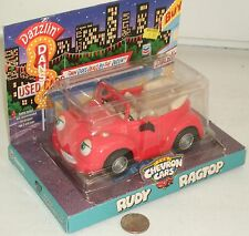 "Chevron Cars Red Rudy Ragtop 5"" NICE in Box"
