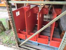 Anbauplatte Schneepflug Schmidt Beilhack Adapterplatte 3 Punkt auf Unimog Größe3
