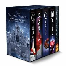 The Lunar Chronicles Boxed Set: Cinder Scarlet Cress Fairest Winter | Hardcover