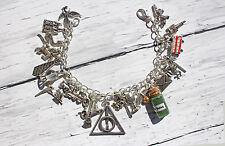 Harry Potter Hogwarts Inspired Charm Bracelet