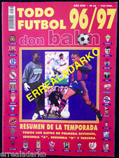 DON BALON EXTRA TODO FUTBOL 96-97 REAL MADRID-BARCELONA-BORUSSIA DORTMUND-ETC