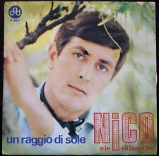 Nico E Le Ali Bianche  – Un Raggio Di Sole 45 giri 1977 EX/NM