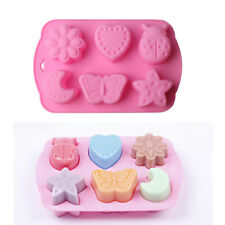 Silicone 3D Insect Moon Fondant Mold Cake Chocolate Mould Decorating Baking Tool