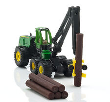 Siku 1652 - John Deere 1470E Forwarder Harvester with Logs  - H0 Scale 1:87