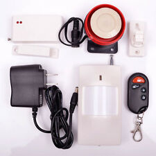 Wireless Security Alarm & Chime Motion Sensor 2 IN 1 Home Garage Doors Detector