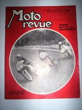 MOTO REVUE N°1547 24 JUIN 1961 / INSERMINI POUND PABA A MAGNY COURS
