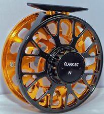 CLARK VIS-N 5/6/7 SUPER LARGE ARBOR, CNC Machined BAR STOCK, Sealed FLY REEL