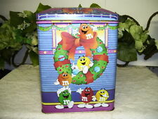 M&M'S TIN BOX BED AND BREAKFAST HOUSE CHRISTMAS 1995
