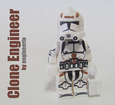 LEGO Custom -- Clone Engineer -- Star Wars Clone Trooper Minifigure rex gree fox