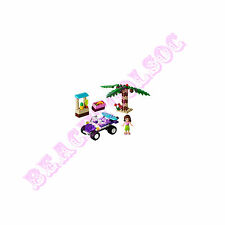 New LEGO Friends Olivia's Beach Buggy - 94 Pcs Set 41010 Surfboard Coconut Tree