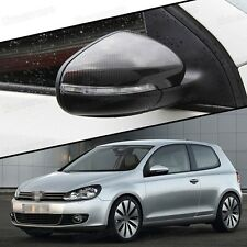 Carbon Fiber Side Mirror Cap Covers for VW Golf MK6 2009-2012 / Touran 2011-2015