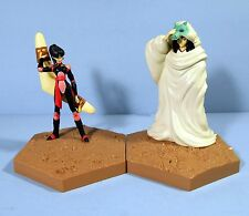 Rare Pair of Inuyasha Action Figures Naraku and Sango Banpresto 2001