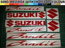Suzuki Bandit GSF 400 600 750 1200 1250 DECAL STICKER Pack Todos Los Colores Disponibles