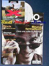 Rivista MUCCHIO SELVAGGIO EXTRA 7/2002 CD Sid Griffin Springsteen Lindo Ferretti