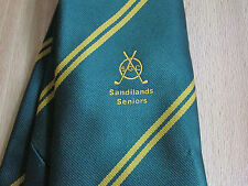 SANDILANDS Seniors GOLF Club SGC Tie by Lister Reid Ties