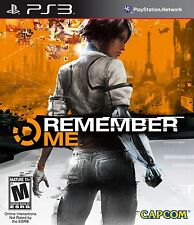 Remember Me (Playstation 3 PS3, NTSC, Video Game) Excellent Condition