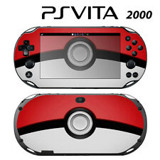 Vinyl Decal Skin Sticker for Sony PS Vita Slim 2000 Pokeball