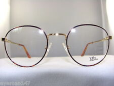 LOGO LM915 ROUND EYEGLASS FRAME IN TORTOISE ON GOLD SIZE 48