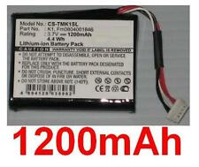 Batterie 1200mAh type FM0804001846 K1 Pour TomTom One XL HD Traffic